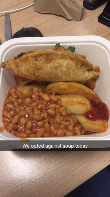 Pasty, Chips & Beans – YOLO