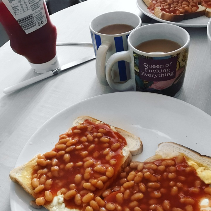 Sunday Morning Beans on Toast